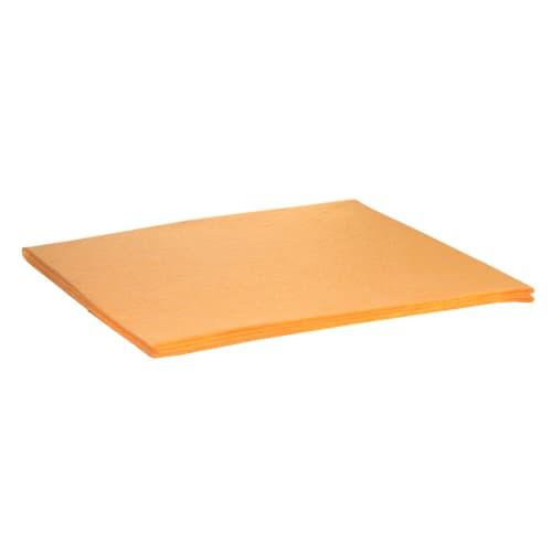 Serpillière orange 50 x 60 cm photo du produit
