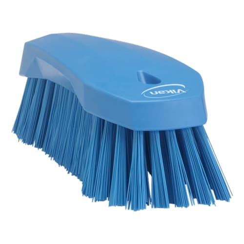 Brosse fibres dures alimentaire PLP 20cm bleu photo du produit