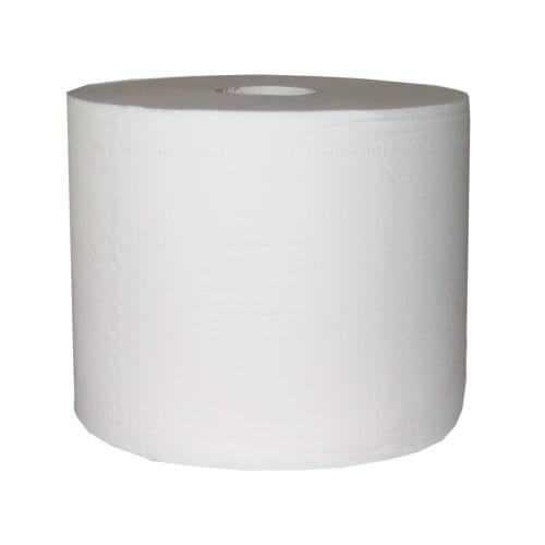 Bobine d essuyage blanche 2 plis 1000 formats 20 x 24 cm photo du produit