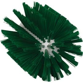 Brosse cylindrique fibres médium alimentaire PLP Ø10,3cm vert photo du produit