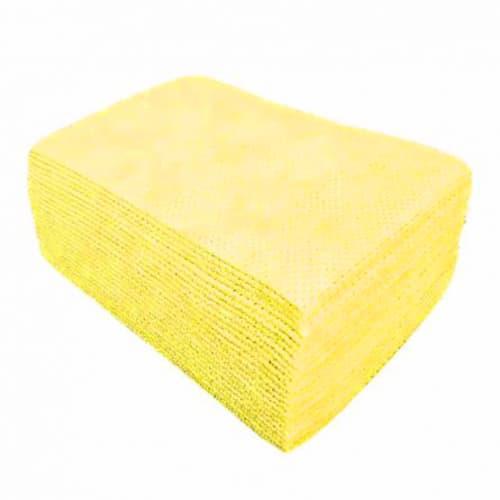 Lavette non tissée H Easy jaune 50g/m² 40 x 32 cm photo du produit
