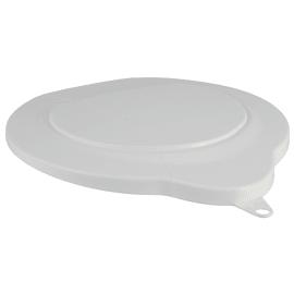 Couvercle pour seau 6L alimentaire PLP blanc photo du produit