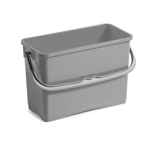 Seau PLP 8L gris photo du produit