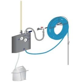 Centrale Mini Mousse option rinçage tuyau de 15m photo du produit