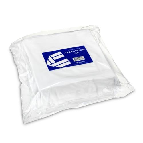 Essuyage non tissé Cleanroom 100 blanc 22 x 22 cm photo du produit