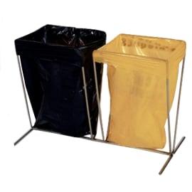 Support sac sur pied double pour petits sacs photo du produit