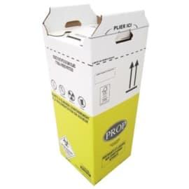 Carton hospitalier DASRI 50L haut lien coulissant NF X photo du produit