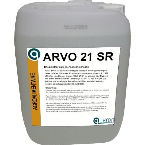 Arvo 21 SR désinfectant bidon de 20L photo du produit