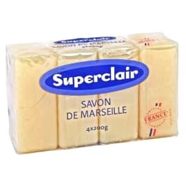Superclair savon de Marseille 200g photo du produit