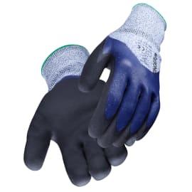 Gant de protection anti-coupures Grip cut niveau 5 PEHD double enduction nitrile taille 8 photo du produit