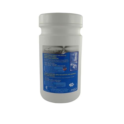 Lingettes désinfectantes PRODENE SR70 boite de 200 photo du produit