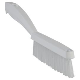 Brosse fine fibres dures alimentaire PLP 30cm blanc photo du produit