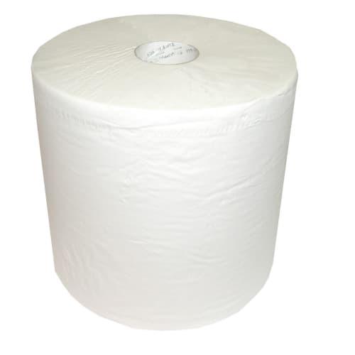 Bobine d essuyage blanche 2 plis 1500 formats 37 x 38 cm photo du produit
