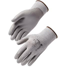 Gant de protection coupure tricoté jauge 13 enduit PU PEHD taille 7 photo du produit