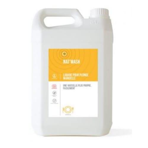 HTS BIO Nat'wash liquide plonge certifié ECOCERT bidon de 5L photo du produit