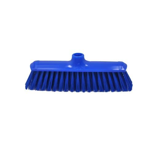 Balai fibres souples alimentaire PLP 29cm bleu photo du produit