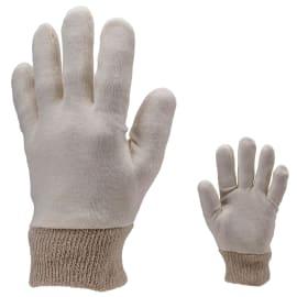 Gant de manipulation coton beige 30g/m² taille 9/10 (homme) photo du produit