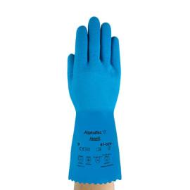 Gant de protection Alphatec 87-029 coton enduction latex bleu antidérapant taille 7 photo du produit