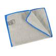 Essuyage microfibre Mini 200 gris surjet bleu 23 x 35 cm photo du produit
