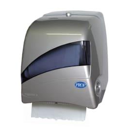 Distributeur d essuie-mains rouleaux Paredis 3 gris Inox photo du produit