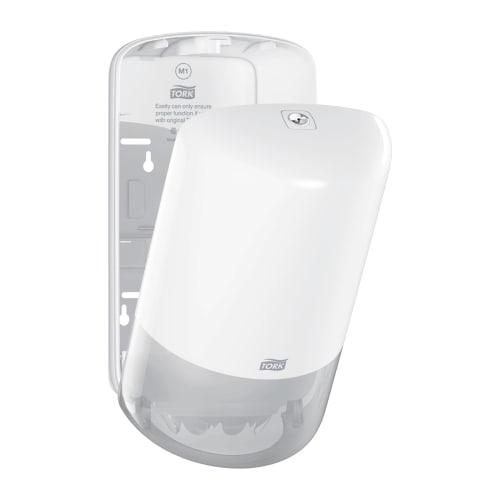 Distributeur d essuyage dévidage central blanc M1 petit modèle photo du produit Side View L
