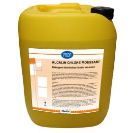 PROP Alcalin chloré moussant bidon de 22kg photo du produit