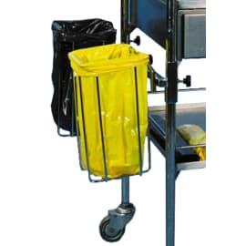 Support sac double pour guéridon et chariots inox photo du produit