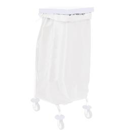 Sac à linge 65L 170g/m² blanc photo du produit