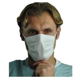 Masque médical Op-Air One Splash type IIR blanc à lanières photo du produit