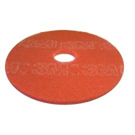 Disque rouge 3M pour autolaveuse et monobrosse Ø355mm photo du produit