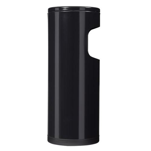 Cendrier étouffoir avec corbeille 12,5L noir photo du produit Side View L