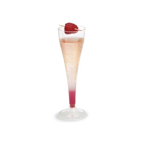 Flûte à champagne plastique 100/110 cc 175mm cristal photo du produit