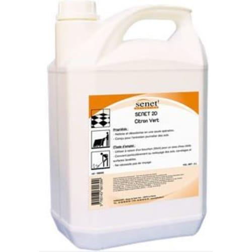 Senet 3D citron détergent désinfectant désodorisant bidon de 5L photo du produit