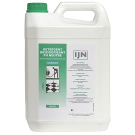 IJN détergent désodorisant neutre fraicheur nette bidon de 5L photo du produit