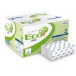 Essuie-mains plié blanc 2 plis 32 x 22,5 cm certifié Ecolabel photo du produit