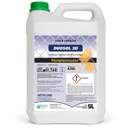 Duosol 3D détergent désinfectant désodorisant bidon de 5L photo du produit