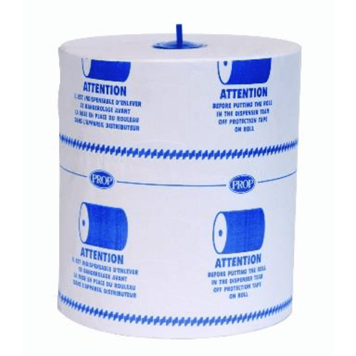 Essuie-mains rouleau blanc 2 plis 160m certifié Ecolabel photo du produit