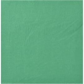 Serviette papier 2 plis 39 x 39 cm vert lumière photo du produit