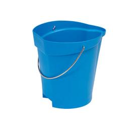 Seau gradué alimentaire PLP 12L bleu photo du produit