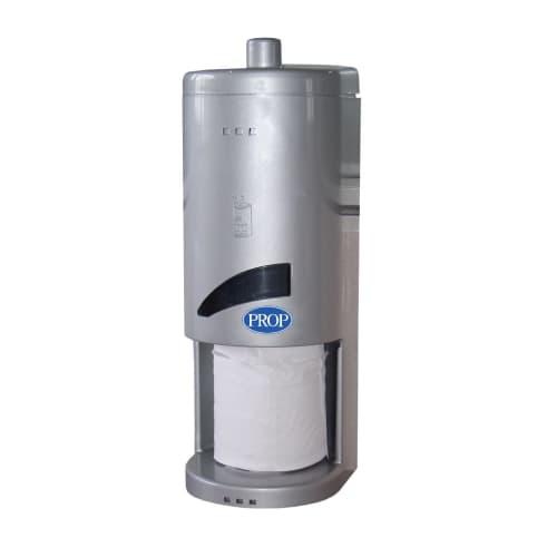 Distributeur de papier toilette 3 petits rouleaux gris Toilet 3 photo du produit