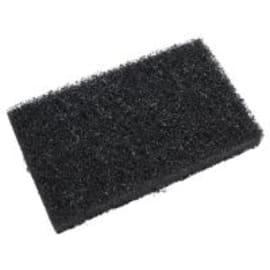 Tampon abrasif épais noir 6,5 x 15,8 cm photo du produit