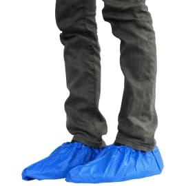 Surchaussure CPE 110µm bleu 40cm photo du produit