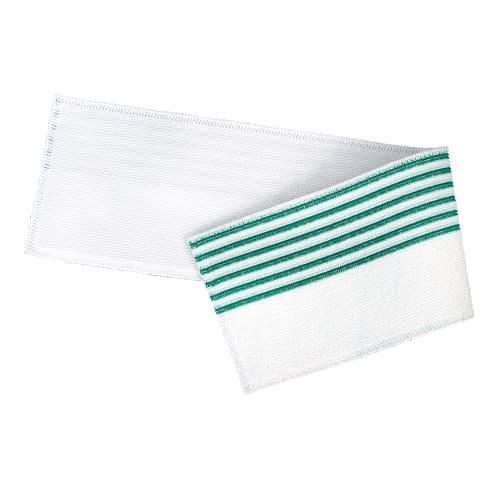 Bandeau de lavage Ultimate 3D Infinite blanc/vert 11,5 x 50 cm photo du produit