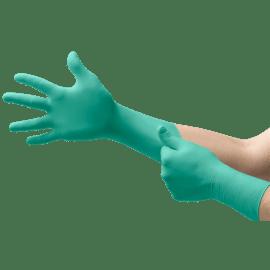 Gant à usage unique stérile Néoprène Dermashield 73-711 vert non poudré taille 6,5 photo du produit