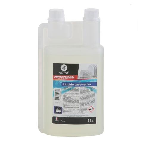 Actae liquide lave-verres flacon doseur de 1L photo du produit