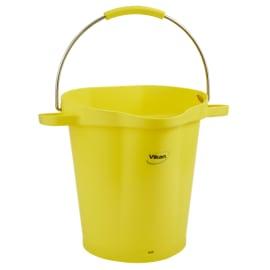 Seau gradué alimentaire PLP 20L jaune photo du produit