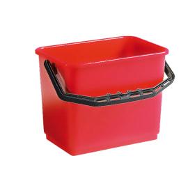 Seau PLP 6L rouge photo du produit