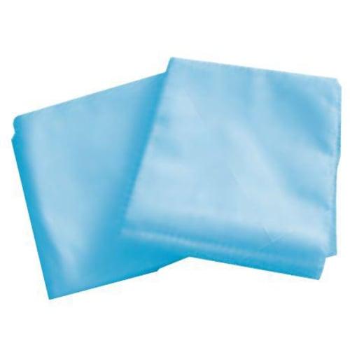 Protège drap 2 plis bleu 78 x 210 cm photo du produit
