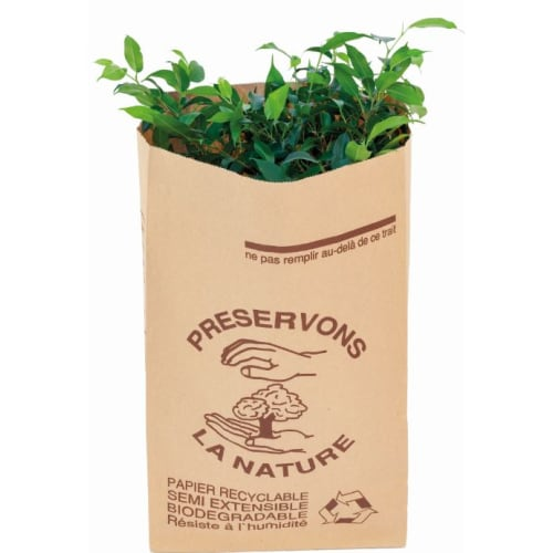Sac papier 2 feuilles 160L traitement anti-humidité W.S photo du produit