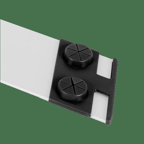 Embouts accroche gazes pour support trapèze aluminium photo du produit